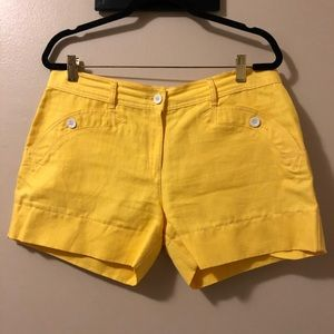See by Chloe Cotton/Linen Shorts,Size-12